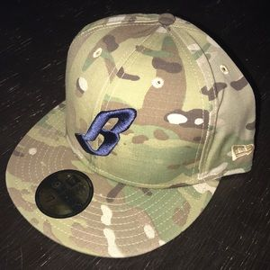 f2337ed698273 Billionaire Boys Club Accessories - very limited BBC x New Era camo fitted 7  1